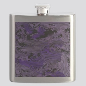 impressive moments full of color purple blue Flask
