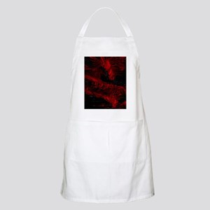 impressive moments full of color-red black Apron