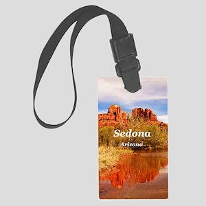 Sedona_2.5x3.5_Ornament(Oval)_Ca Large Luggage Tag