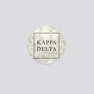 Kappa Delta Marble Mini Button