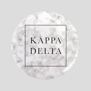 "Kappa Delta Marble 3.5"" Button"