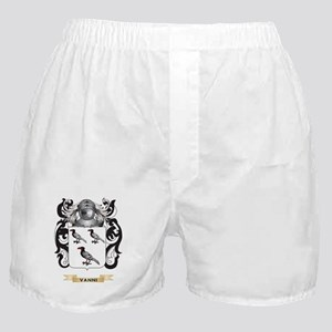 Vanni Family Crest (Coat of Arms) Boxer Shorts