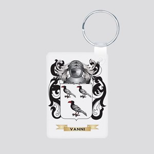 Vanni Family Crest (Coat o Aluminum Photo Keychain