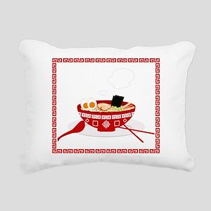 RAMEN Rectangular Canvas Pillow