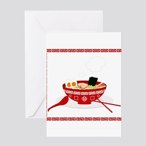 RAMEN Greeting Cards