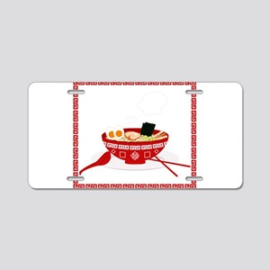 RAMEN Aluminum License Plate