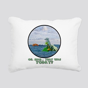 That Was Today Rectangular Canvas Pillow
