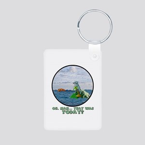 That Was Today Aluminum Photo Keychain