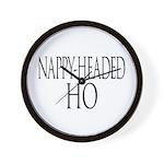Nappy Headed Ho Classy Design Wall Clock