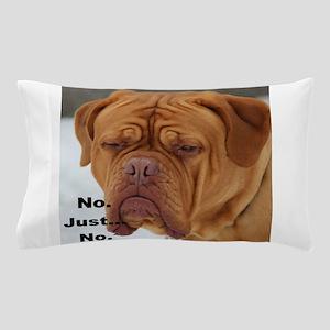 Dour Dogue No. Pillow Case