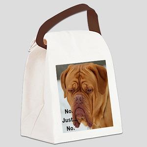 Dour Dogue No. Canvas Lunch Bag