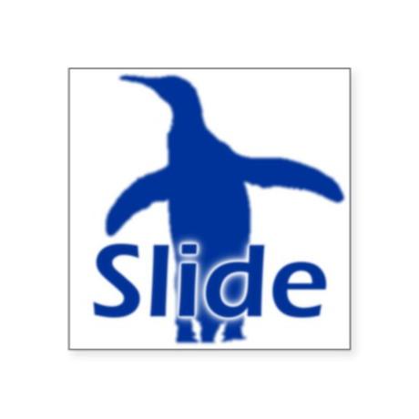 Slide Oval Sticker