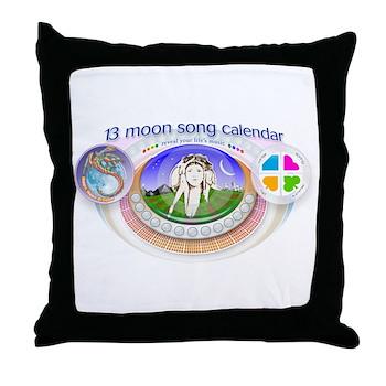 mSong Throw Pillow