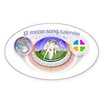 mSong Sticker (Oval)