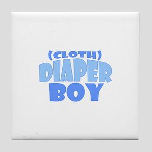 Cloth Diaper Boy Tile Coaster