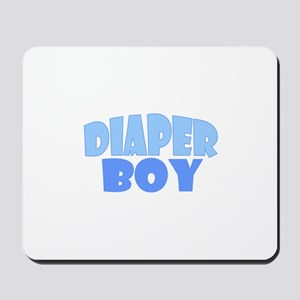 Diaper Boy Mousepad