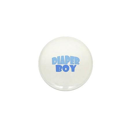 Diaper Boy Mini Button
