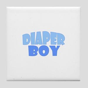 Diaper Boy Tile Coaster