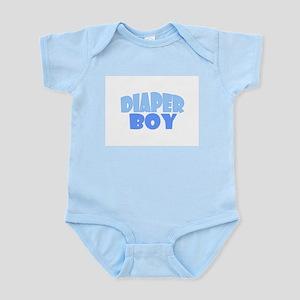 Diaper Boy Infant Bodysuit