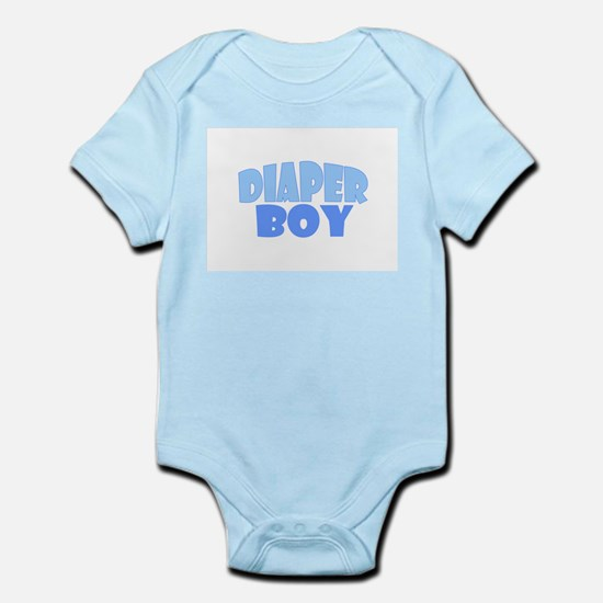 Diaper Boy Infant Bodysuit