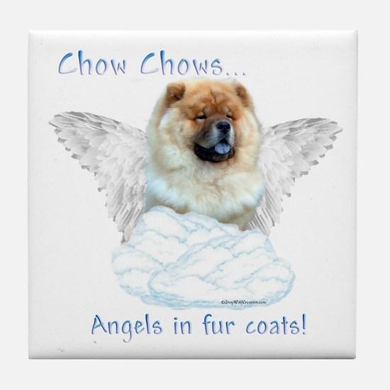 Chow Angel Tile Coaster