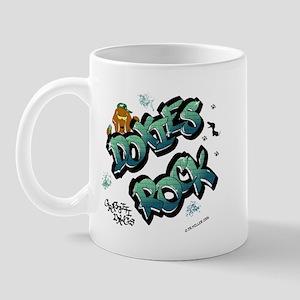 Doxies Rock Graffiti Mug