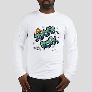 Doxies Rock Graffiti Long Sleeve T-Shirt