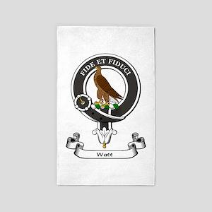 Badge-Watt Area Rug