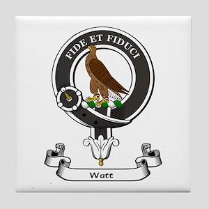 Badge-Watt Tile Coaster