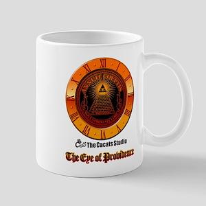 Eye of Providence clock Mug