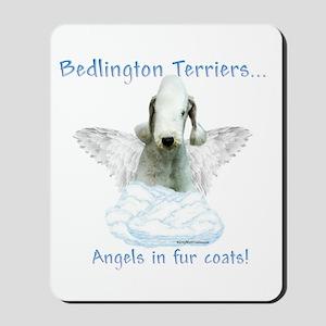 Bedlington Angel Mousepad