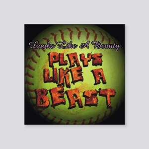 Plays Like A Beast Fastpitch Softball Square Stick