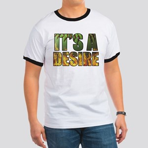 It's A Burning Desire Fastpitch Softball Ringer T