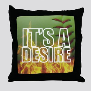 It's A Burning Desire Fastpitch Softball Throw Pil