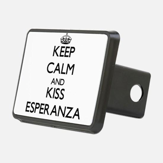 Keep Calm and kiss Esperanza Hitch Cover