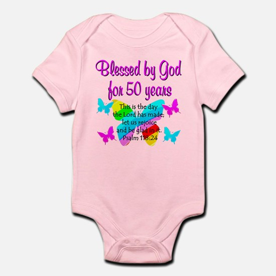 DELIGHTFUL 50TH Infant Bodysuit