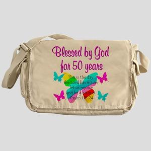 DELIGHTFUL 50TH Messenger Bag