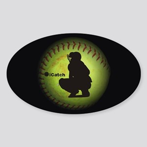 iCatch Fastpitch Softball Sticker