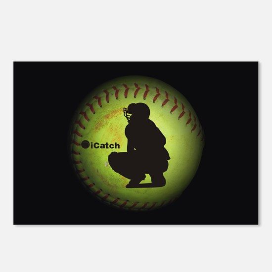 iCatch Fastpitch Softball Postcards (Package of 8)