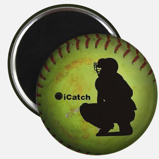 iCatch Fastpitch Softball Magnets
