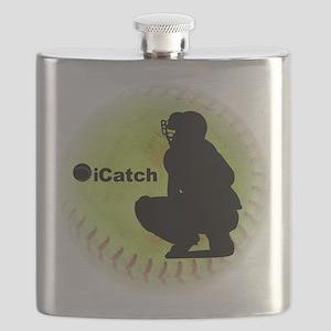 iCatch Fastpitch Softball Flask