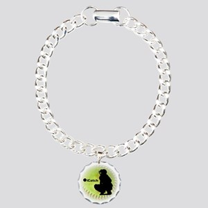 iCatch Fastpitch Softball Charm Bracelet, One Char