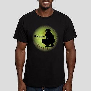 iCatch Fastpitch Softball Men's Fitted T-Shirt (da