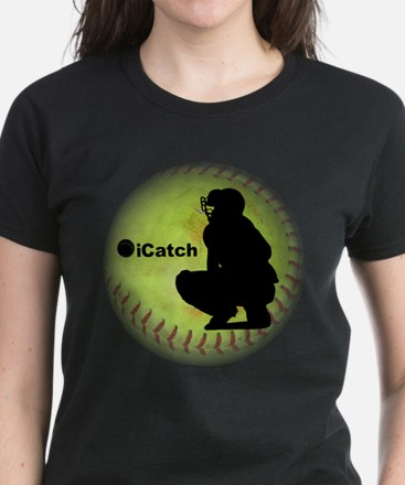iCatch Fastpitch Softball Women's Dark T-Shirt