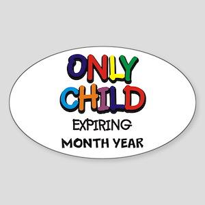 ONLY CHILD Sticker