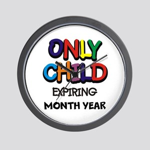 ONLY CHILD Wall Clock