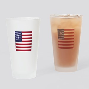 Team Figure Skating USA Drinking Glass