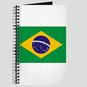 Brazil Flag Journal