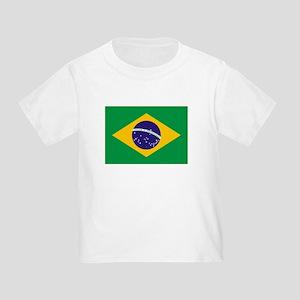 Brazil Flag Toddler T-Shirt