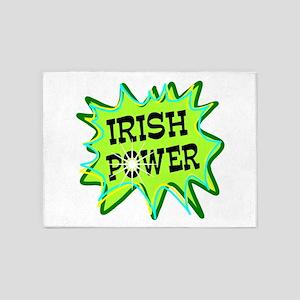 Irish Power 5'x7'Area Rug
